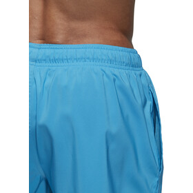 adidas Badge of Sport SL Shorts Men, shock cyan/black